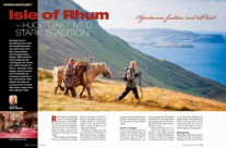 Hjortjakt på Isle of Rhum