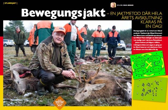 På jakt i Tyskland, Bewegungsjakt