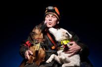 Jägare & hundar i studio – Kul och lite ovanligt